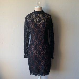 Little Black Lace Dress Forever 21